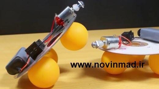 دانلود فیلم آموزشی ساخت ربات جستجوگر پرشی jumping robot