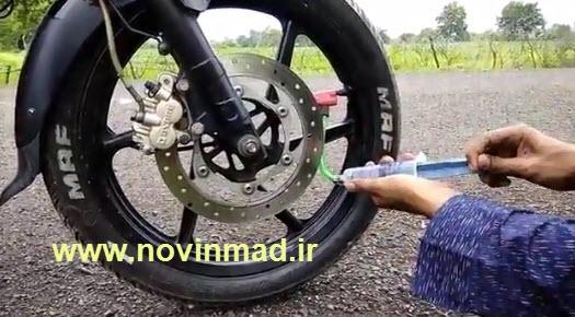 فیلم آموزش ساخت مینی پمپ هوا تلمبه کوچک Mini Pump