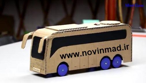 دانلود فیلم آموزشی پروژه ساخت اتوبوس قدرتمند powered bus model